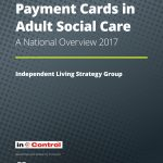 payment cards in adult social care report 2017-1 cover