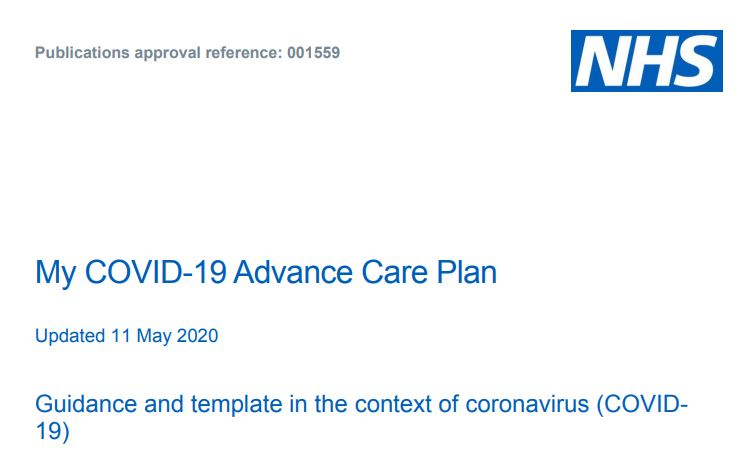 nhs guidance
